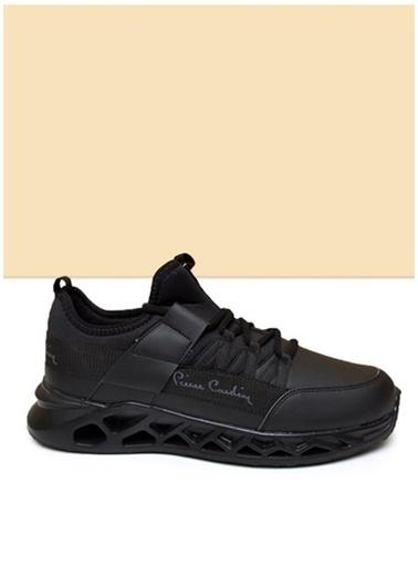 Pierre Cardin Pierre Cardin Erkek Siyah Sneaker Siyah